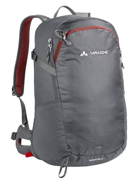 VAUDE Wizard 24+4 Backpack pebbles
